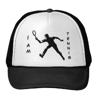I AM TENNIS TRUCKER HAT