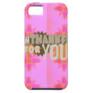 I am Thankful For You iPhone SE/5/5s Case