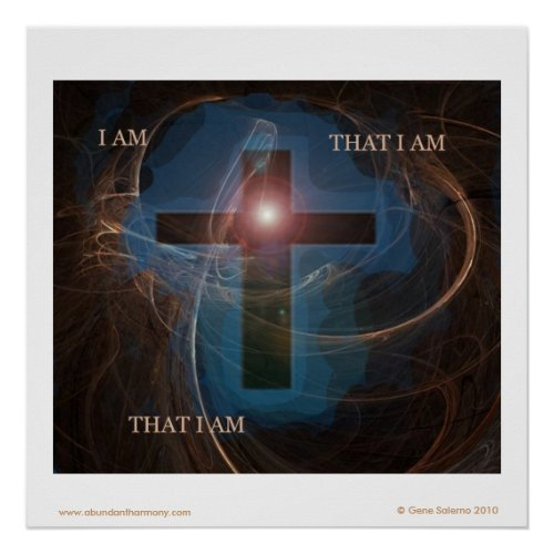 I am that I am... print