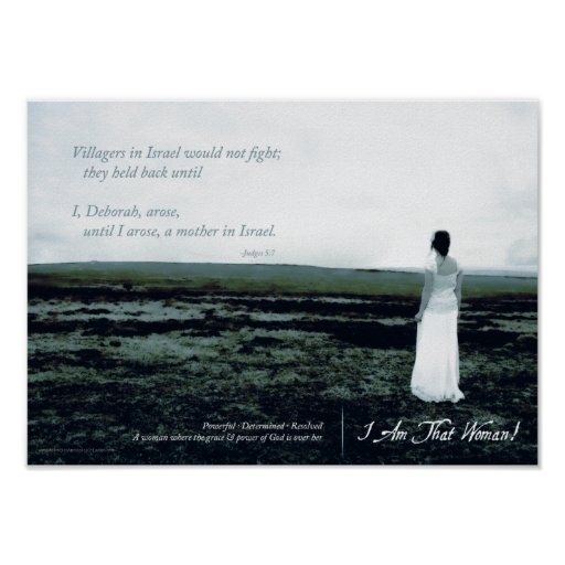 I Am That Woman Small Poster
