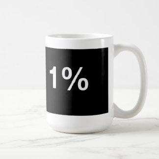 I am the 1% coffee mug