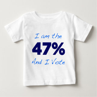 I am the 47% and I vote T-shirt