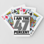 I am the 47% bicycle poker cards