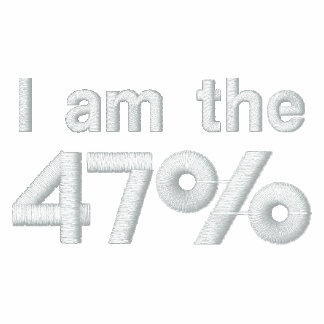 I am the 47% Embroidered Shirt