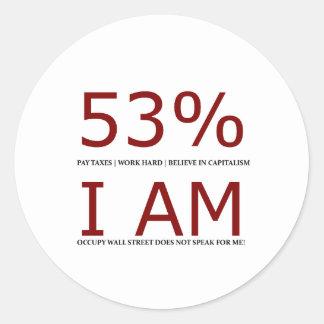 I am the 53 round sticker