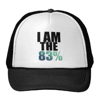 I am the 83% trucker hat