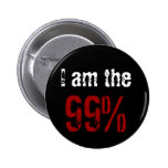 I am the 99% buttons