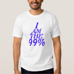I am the 99%, Occupy Wall street . T-Shirt