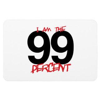 I AM THE 99 PERCENT -.png Rectangular Photo Magnet
