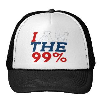 I AM THE 99% TRUCKER HAT