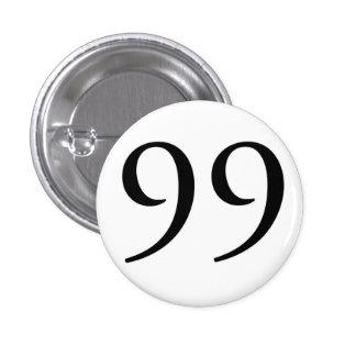 I Am The 99 WHT Pinback Button