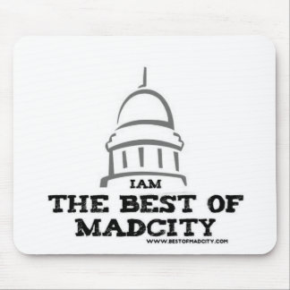 I AM THE BEST OF MADCITY MOUSE PAD