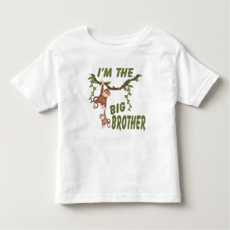 I Am The Big Brother Monkey In Tree Toddler T-shirt