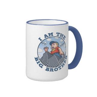 I Am the Big Brother Ringer Coffee Mug