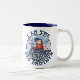 I Am the Big Brother Two-Tone Coffee Mug