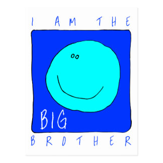 I Am The Big Brother Postcard