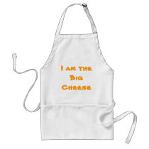 """I am the Big Cheese"" apron"