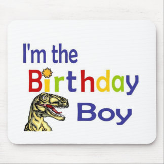I am the birthday boy mouse pad