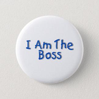 I Am The Boss Button
