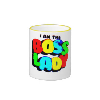 I Am The Boss Lady Mugs