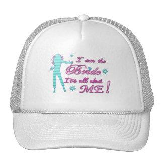 i am the bride about me wedding bachelorette brida trucker hats