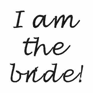 I am the bride! polo