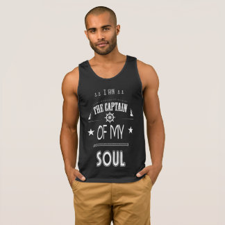I AM THE CAPTAIN OF MY SOUL T-ANK TOP