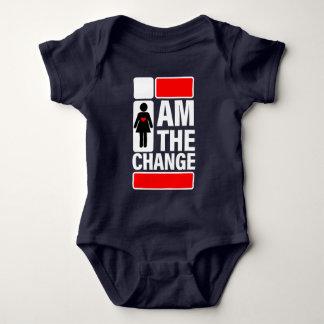 I AM THE CHANGE BABY BODYSUIT