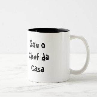 I am the Chef of the House Two-Tone Coffee Mug