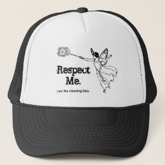 I am the Cleaning Fairy Trucker Hat