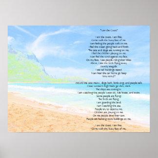 I am the Coast Poster