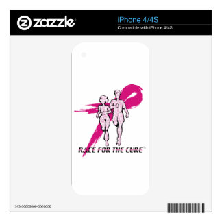 I Am The Cure iPhone 4S Skin