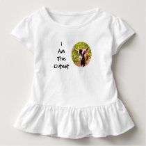 I Am The Cutest Kid (photo of baby goat) Toddler T-shirt