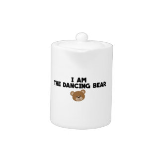 I Am The Dancing Bear Teapot