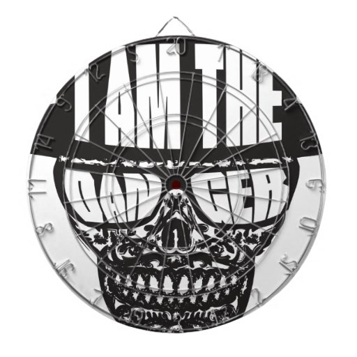 I am the Danger Dart Board