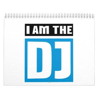 I am the DJ Calendar