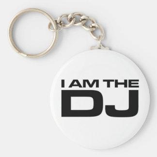 I Am The Dj Keychain