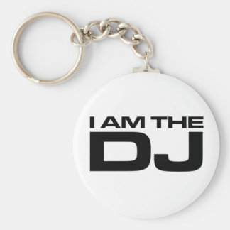 I Am The Dj Key Chains