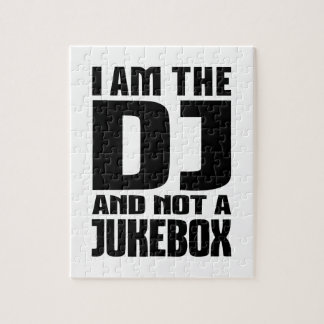 I am the DJ not a Jukebox Jigsaw Puzzles