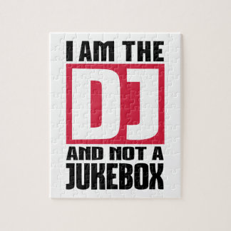 I am the DJ not a Jukebox Puzzles