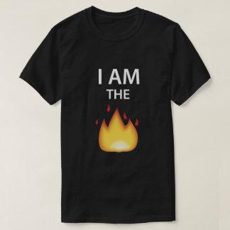 I AM THE FIRE - EMOJI TShirt. T-Shirt