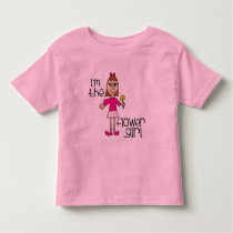 I am the Flower Girl Toddler T-shirt
