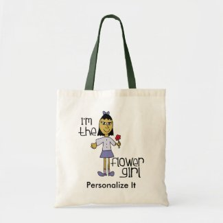 I am the Flower Girl Tote