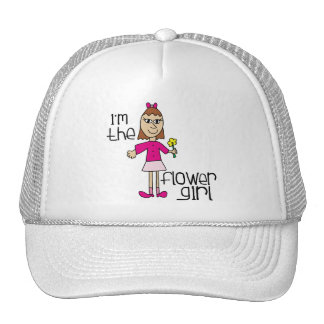 I am the Flower Girl Trucker Hat