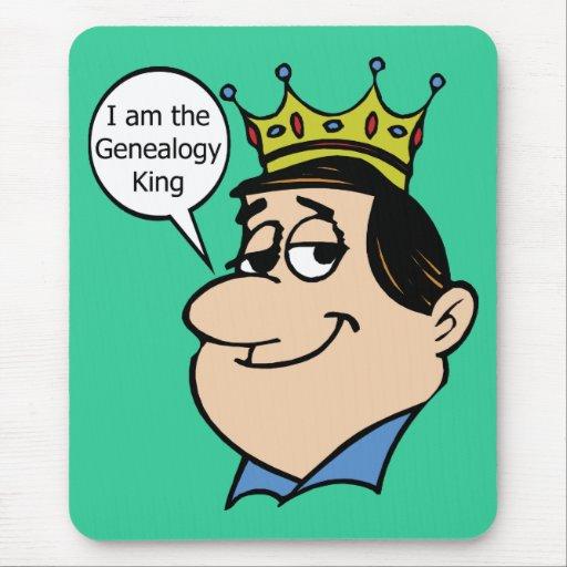 I Am The Genealogy King Mouse Pad