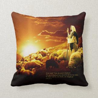 """I am the good shepherd.  John 10:11 Pillow"