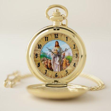 I Am the Good Shepherd John 10:7-21 Pocket Watch