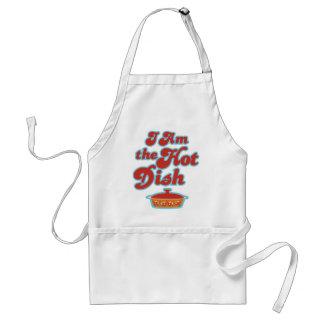 I Am the Hot Dish Funny Apron