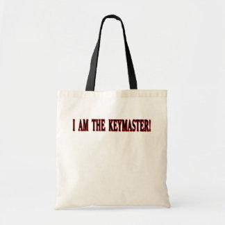 I am The Keymaster! Canvas Bags