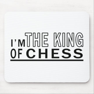 I Am The King Of Chess Mousepad